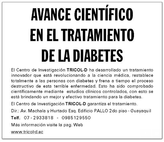 cura para la diabetes en ecuador vende